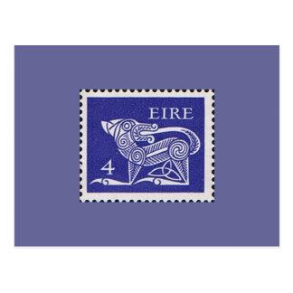 Timbre-poste décimal de l'Irlande 1971 Cartes Postales