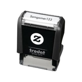 Timbre Samgamer123 ! Tampon Auto-encreur