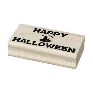 Timbres en bois d'art de Halloween/casquette de la