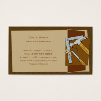 Timmerman Visitekaartjes