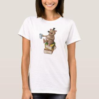 Tintement de tintement peu de T-shirt riant de