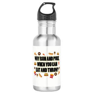 Tir drôle mis, cadeau de bouteille d'eau de