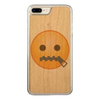 Tirette Emoji Coque En Bois iPhone 7 Plus
