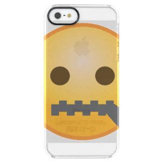 Tirette Emoji Coque iPhone Clear SE/5/5s