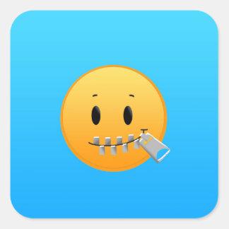 Tirette Emoji Sticker Carré