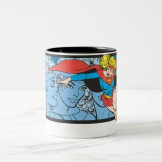 Tirs principaux de Supergirl Tasse 2 Couleurs