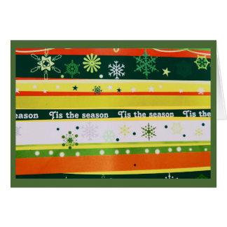Tis la carte de voeux de saison