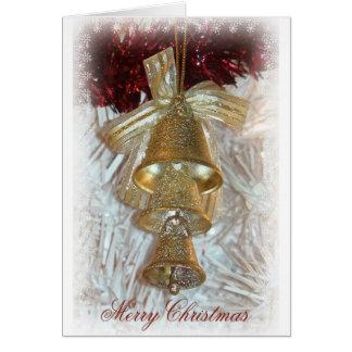 Tis la saison à miroiter carte de Noël