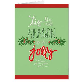 'Tis la saison ! Carte de Noël