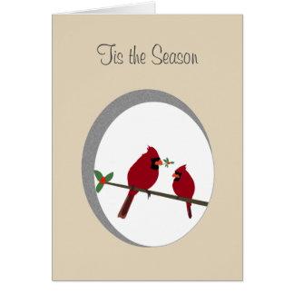 'Tis les cartes de voeux de saison