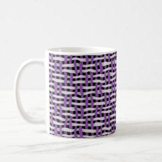 tissage ou texture sans couture tissée mug