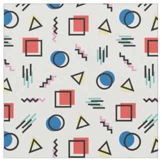tissu abstrait de style de Memphis des années 80