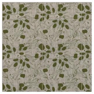 Tissu Arrière - plan de branche d'olivier. La vie saine