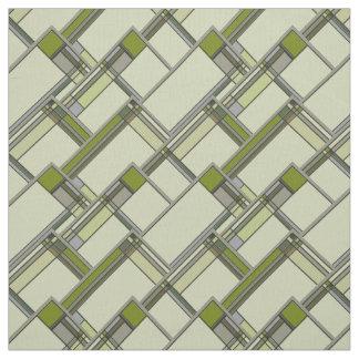 Tissu Arts merveilleux et motifs géométriques de métiers