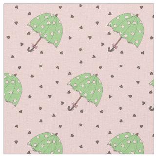 Tissu Baisses de pluie de Valentine de parapluie de