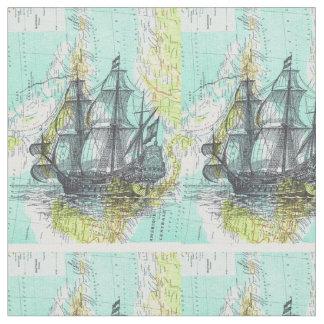 Tissu bateaux à bougie