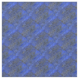 Tissu bleu succulent de diamant