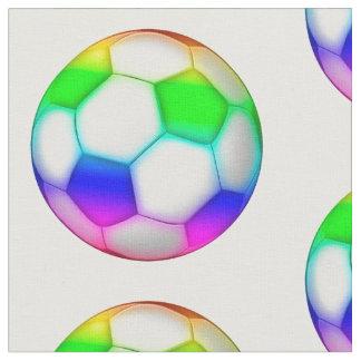 Tissu Cadeaux colorés de sport du motif   de ballons de