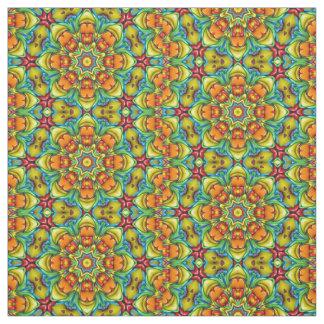 Tissu coloré de rayon de soleil