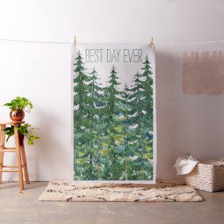 Tissu Contexte de cabine de photo de mariage d'arbre de