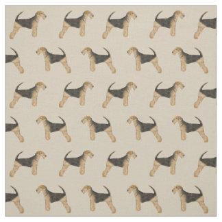 Tissu d'Airedale Terrier