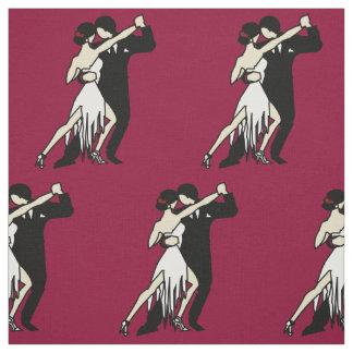 Tissu Danseurs romantiques de tango