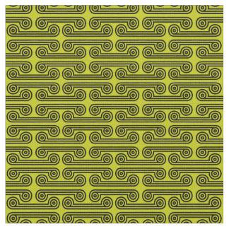 Tissu Deimos aux nuances du vert jaune