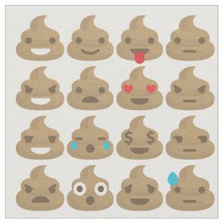 tissu d'emojis de dunette