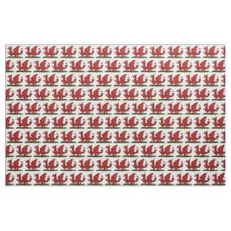 Tissu Dragon rouge du Pays de Galles