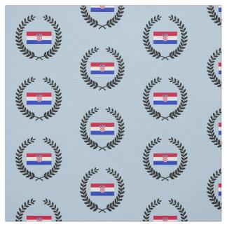 Tissu Drapeau de la Croatie
