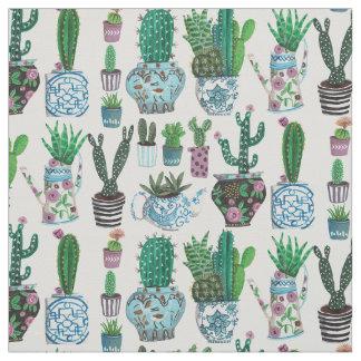 Tissu du motif | de surface de Succulents de