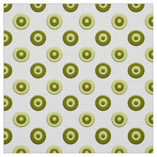 Tissu Élément vert de pois