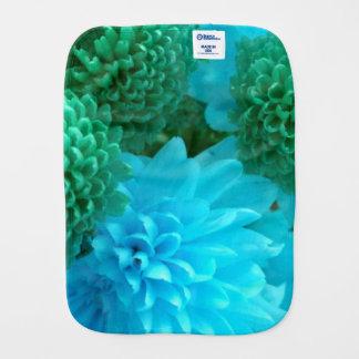 Tissu floral bleu/de vert bébé linges de bébé