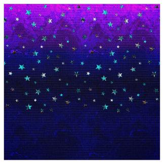 Tissu Image étoilée de belle nuit de galaxie de l'espace