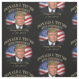 Tissu Inauguration du Président Donald Trump