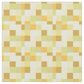 Tissu Jaune et Gamer du motif | de Pixelated d'or