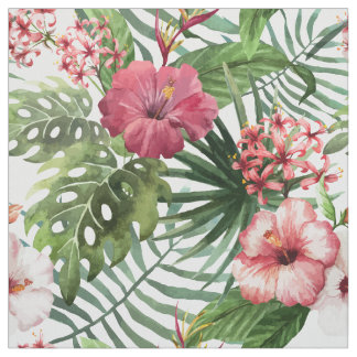 tissu fleurs exotiques pour loisirs cr atifs couture. Black Bedroom Furniture Sets. Home Design Ideas