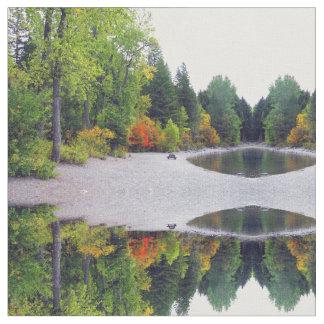 Tissu L'automne du Montana de poisson à chair blanche
