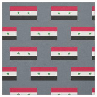 Tissu Le drapeau de la Syrie