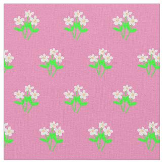 Tissu Marguerites sur tout arrière - plan de couleur