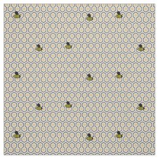 Tissu Métier d'abeilles et d'enfants du style 2 de nid