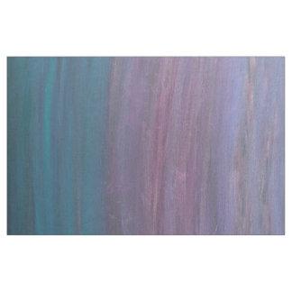 Tissu Métier visionnaire | Ombre bleu turquoise rose