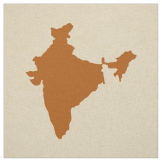 Tissu Modes Inde d'épice de cannelle