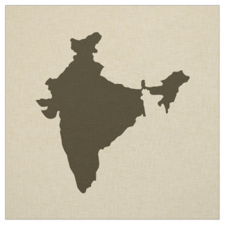 Tissu Modes Inde d'épice de chocolat