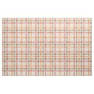 Tissu Motif de carrés de tartan de vert olive de rouge
