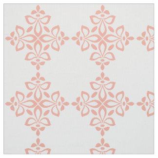Tissu Motif doux de tuile de Flourish de rose de ressort