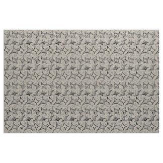 Tissu motif noir et blanc