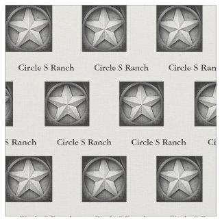 Tissu personnalisé par Lonestar rustique du Texas