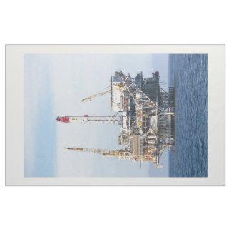 Tissu Plate-forme pétrolière