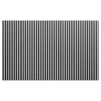 Tissu rayé noir et blanc ou VOS COULEURS
